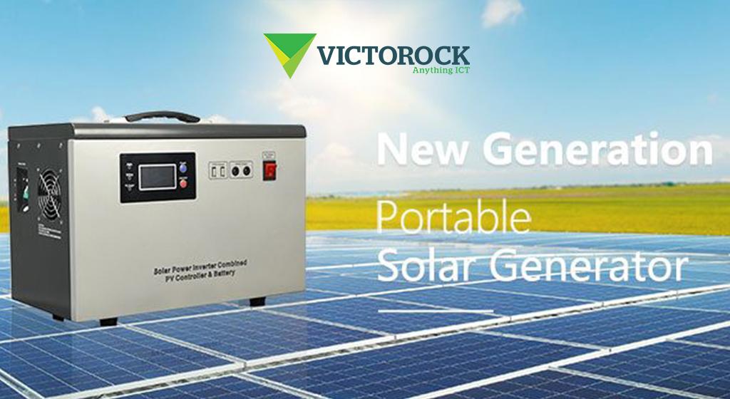 Portable Solar Generator by Victorock