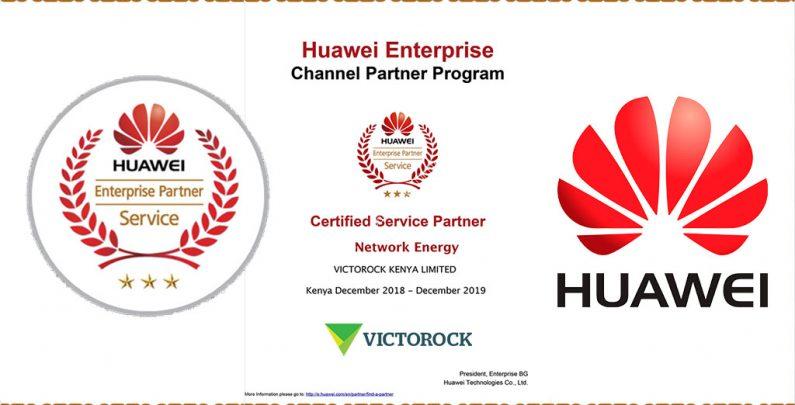 Huawei Certified Service Partner (CSP) by Victorock