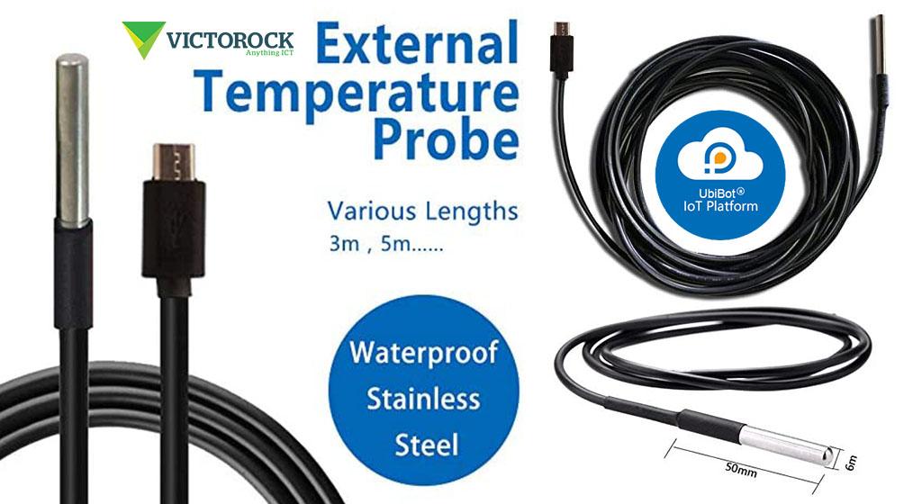 UbiBot DS18B20 Temperature Probe